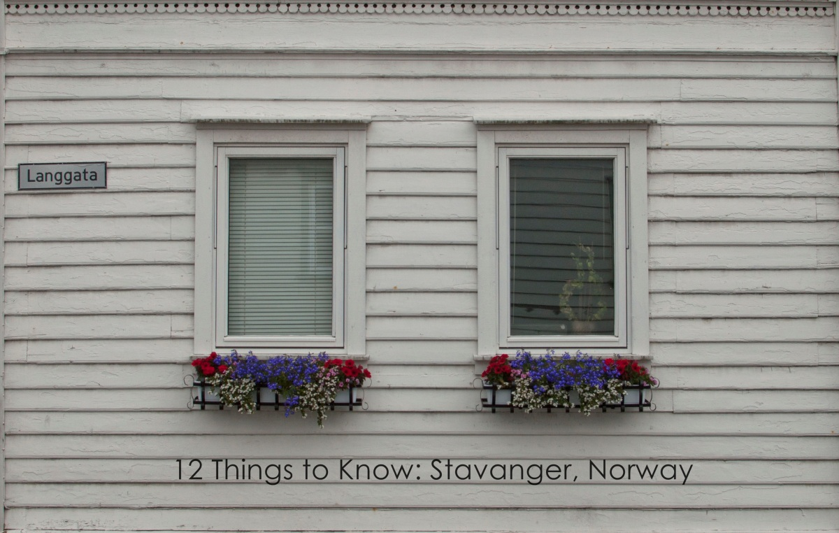 Things to Know about Stavanger, Norway